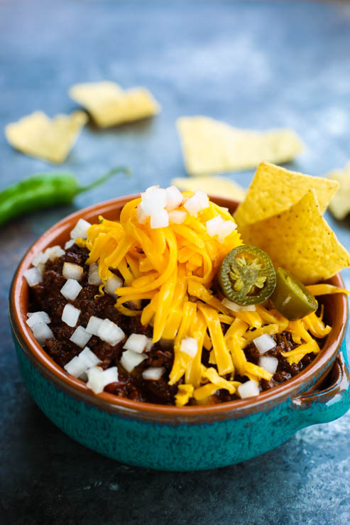 Bison Chili with Mexican Cinnamon