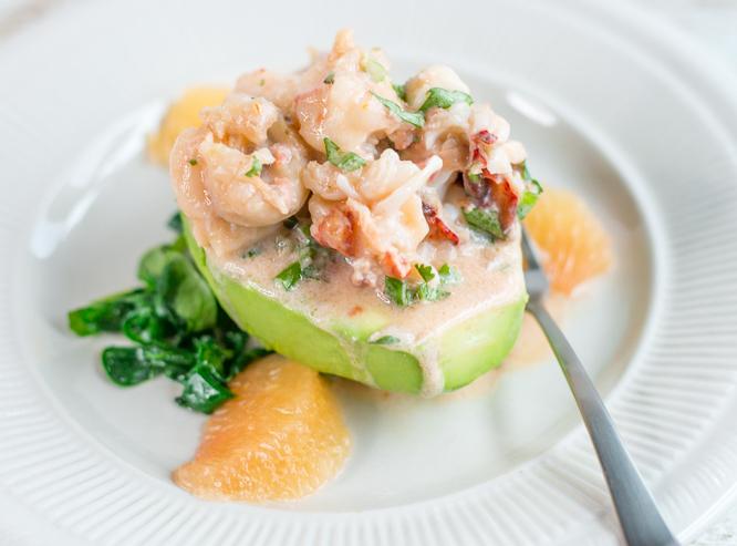 Lobster Stuffed Avocado